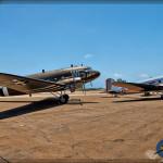 C-47B Skytrain and Douglas DC-3 - Lyon Air Museum