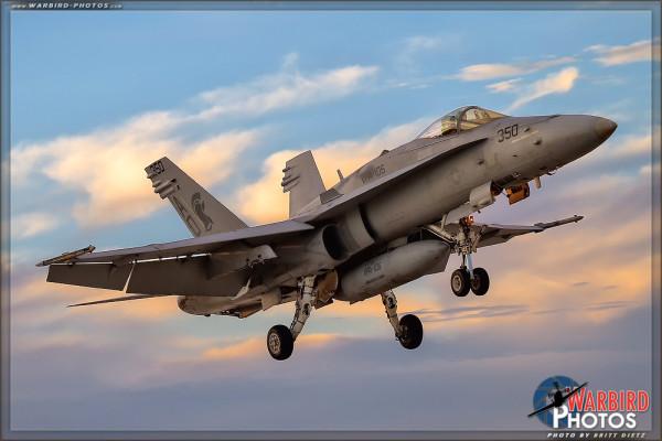 F/A-18C Hornet - NAF El Centro Photocall