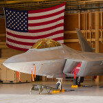 USAF F-22A Raptor at the 2014 Nellis AFB Airshow