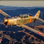 Pilatus P2 Air to Air Photoshoot - Planes of Fame Airshow 2014