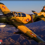 A-1E Skyraider Air to Air Photoshoot - Planes of Fame Airshow 2014