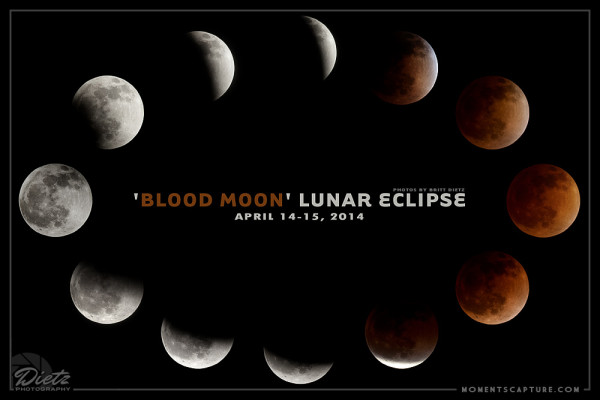 April 2014 Blood Moon Eclipse