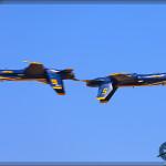 USN Blue Angels at the 2014 NAF El Centro Airshow