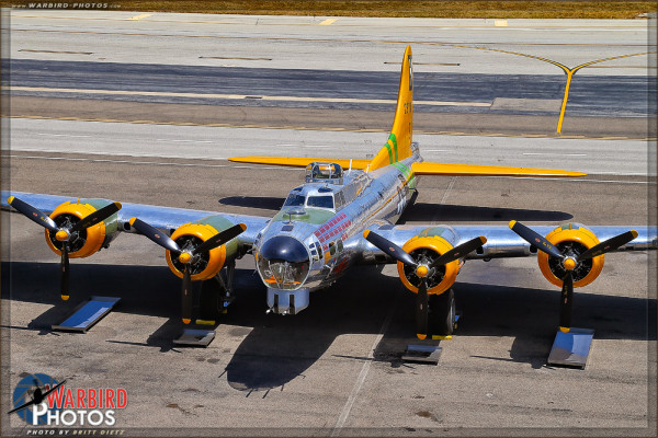 B-17G Flying Fortress 'Fuddy Duddy' - Lyon Air Museum