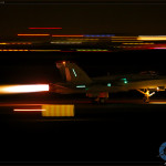 F/A-18C Hornet night afterburner passes at the 2014 MCAS Miramar Airshow
