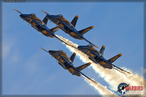 USN Blue Angels at MCAS Miramar Airshow 2014