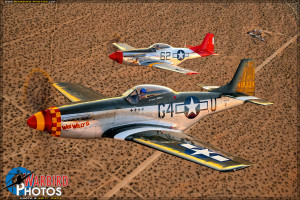 P-51D Mustangs 'Wee Willy II' & 'Bunny'