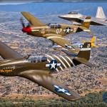 USAF Heritage Flight - Planes of Fame 2015