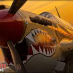 LA County Airshow - P-40 Warhawk