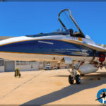 NASA Social - F/A-18B Hornet