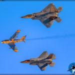 Nellis AFB Airshow - USAF Heritage Flight