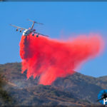 Canyon Fire - BAe-146 Air Tanker