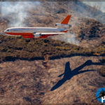 Canyon Fire - DC-10 Air Tanker