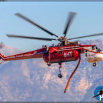 Canyon Fire - S-64F Skycrane