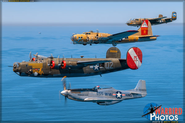 Collings Foundation - Wings of Freedom Tour Fleet