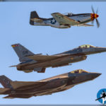 Huntington Beach Airshow 2017 - USAF Heritage Flight
