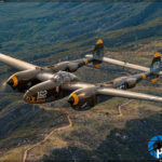 Air to Air - P-38J Lightning '23 Skidoo'