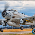 Planes of Fame Airshow 2017 - AD-4N Skyraider
